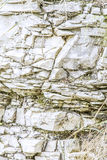 Natural stone wall in close-up Royalty Free Stock Image