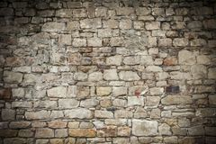 Natural stone wall royalty free stock images