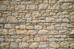 Natural stone wall Royalty Free Stock Photos