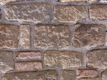 Natural stone wall Stock Images