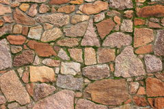 Natural stone wall Stock Image