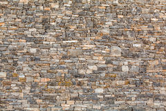 Natural stone wall texture - background Stock Image