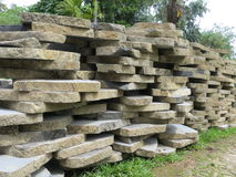 Natural stones in Bogor. Stock Images