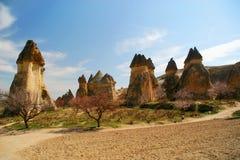 Natural stones in Cappadokia Royalty Free Stock Photos