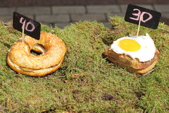 Natural street food Royalty Free Stock Image