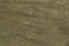 Natural suede olive and khaki color texture as background royalty free stock photos