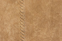 Natural suede texture Royalty Free Stock Image