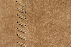 Natural suede texture Stock Image