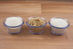 Natural Sugars Stock Images