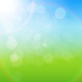 Natural Sunny Background Vector Illustration Royalty Free Stock Photos