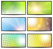 Sunny backgrounds Royalty Free Stock Photo
