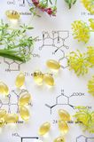Natural supplement Stock Image