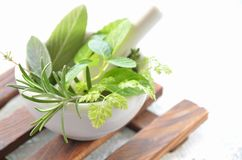 Natural supplement Stock Photo