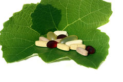 Natural Supplements Royalty Free Stock Image