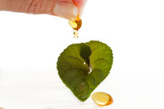 Natural supplements Stock Image