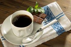 Natural sweetened stevia chocolate Royalty Free Stock Photos