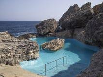 Natural swimming pool Royalty Free Stock Photo