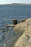 Natural swimming spot Stock Photo
