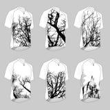 Natural t shirts Stock Image