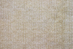 Natural Tan Cotton Fabric Royalty Free Stock Image
