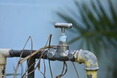 Natural tap close up shoot royalty free stock images