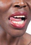 Natural teeth Stock Photography