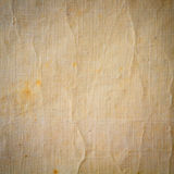 Natural textile old background Stock Photography