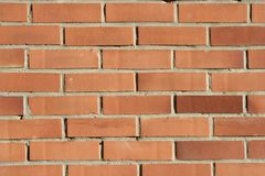 Natural Texture. A wall of bricks stock photography