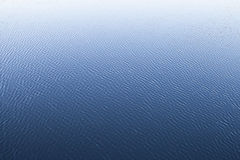 Natural texture of blue water with ripple Stock Photography