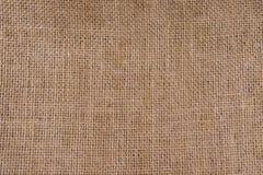 Natural texture of burlap Stock Images