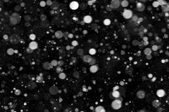 Natural texture of falling snow royalty free stock photos