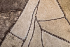 Natural texture leather as a background Royalty Free Stock Photo