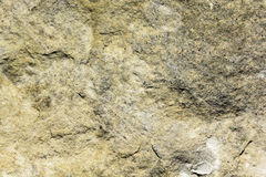 Natural texture of light yellow sandstone. Texture of rock Stock Photography