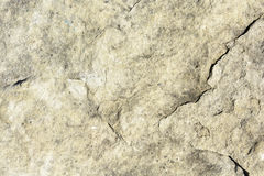 Natural texture of light yellow sandstone. Texture of rock Stock Photo