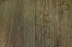 Natural texture of linoleum. The natural texture of linoleum, the artificial color of wood, is beautiful and fashionable stock photo