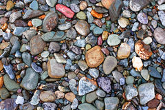 Natural texture. Pebbles. Variant two. Stock Photos