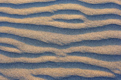 Natural texture. Sandy waves. Variant two. Stock Photo