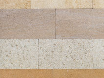 Natural travertine four shades Stock Photos