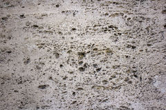 Natural travertine stone background Royalty Free Stock Photos
