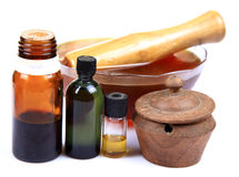 Natural treatment Royalty Free Stock Photography