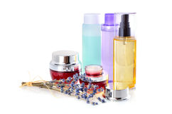 Natural treatments for body care Stock Photography