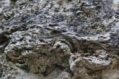 Natural tuff rock Stock Photo