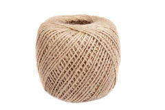 Natural twine ball Royalty Free Stock Images