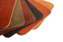 Natural variegated leather Royalty Free Stock Photo