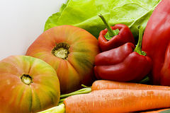 Natural vegetables Stock Photo