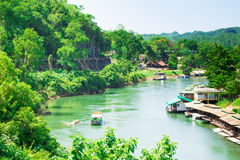 Natural View Of The River Kwai Stock Image