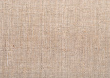 Natural vintage linen burlap fabric texture Royalty Free Stock Images