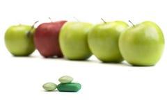 Natural vitamins Stock Image