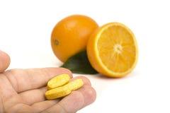 Natural vitamins Stock Photography