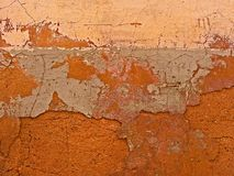 Natural wall background with cracks stock images